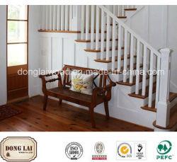 Китай строительных материалов высокого качества питания на заводе деревянной мебелью в доме лестницы поручень для украшения