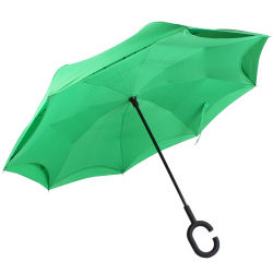 All'interno di - fuori adattare la stampa su ordinazione Sun di marchio ombrello d'inversione invertito