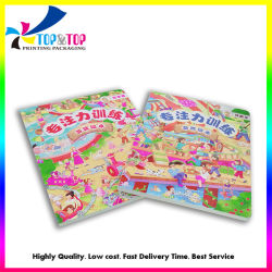 Livre relié Imprimé Impression Impression de livres bon marché des services d'enfants Les enfants à colorier Jeu de conseil personnalisé Service d'impression du livre