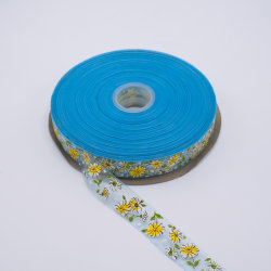 Natal Queen Floral de plástico cintilantes Tartan Dallas Imprimir Metal Organza impresso de Transferência térmica e fita de acessórios de vestuário para o contratante, balão (OU7078)