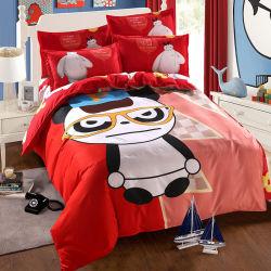 Расходные материалы в Интернете подушками белье 5D кровати мультфильм устанавливает