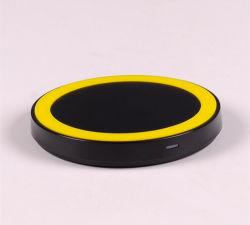 Schnelle Qi-drahtlose allgemeinhinstandardaufladeeinheits-aufladenübermittler-Energien-Adapter-Auflage für iPhone und für Samsung-Galaxie S