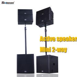 직업적인 오디오 건강한 소형 액티브한 스피커 Cox5.4 2 방법 DJ 시끄러운 스피커