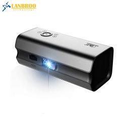 De draagbare Projector van de Bioskoop DLP van het Huis HD met de HifiTelefoons van de Spiegel van de Steun van de Spreker Draadloze Androïde Slimme/iPhone iPad