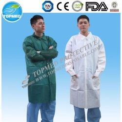 Cappotto a gettare del laboratorio del Nonwoven pp SMS per Laboratotry e l'ospedale