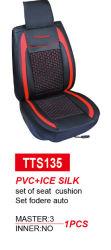 Carro vermelho da tampa do assento do banco da estrutura do assento de couro