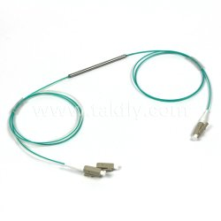 1X2 schließt Mehrmodenstahlgefäß-Typen Fbt Koppler LC-/LC an den Port an