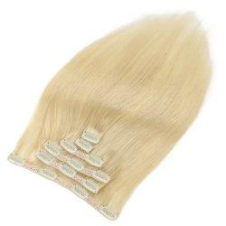 مرصعة مزدوجة من الشعر البكر الإنسان في الشعر ريمي امتداد