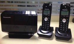 2 손으로 조판된 Kx Tw502 (주식에 있는 240PCS)를 가진 GSM DECT 전화