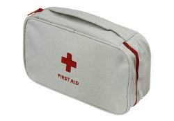De rode Eerste hulp doet Lege Mini Kleine Handig van de Zak van de Eerste hulp van de Rugzak van de Eerste hulp in zakken om Zak van de Uitrusting van de Levering van de Diabetes te dragen de Medische