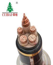 Baja Media Alta Tensión aislamiento XLPE/Aislamiento recubierto de PVC/funda de cinta de acero blindado blindado Conductor de cobre aluminio Cable Eléctrico Cable de alimentación eléctrica