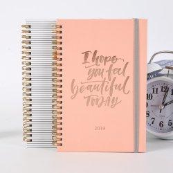 Populair Nieuw ontwerp aangepast spiraal Notebook met pen / Travel Journal / Custom Notebook