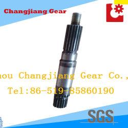 Os eixos do eixo propulsor da engrenagem de transmissão do eixo da engrenagem Involuírem Aço Polilinha