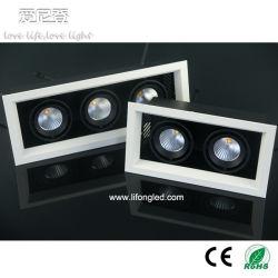 Vente chaude 2700k 3000k 4000k 5000k LED Spotlight de calandre