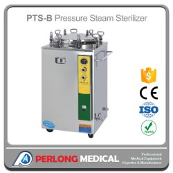 La pression verticale médical stérilisateur à vapeur (100L) (PTS-B100L)