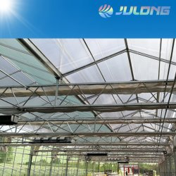 Fácil de instalar Serra Agricole Frutas Tubo galvanizado para emissões