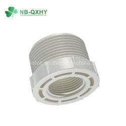 Mannelijke Adapter van het Uitsteeksel van de Koppeling van de Montage van de Pijp van het Loodgieterswerk van de Draad van pvc de Plastic