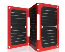 21W Solar Sunpower teléfono móvil USB portátil Batería de alimentación Cargador de panel plegable