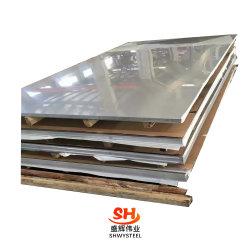 Matériau de construction laminées à froid à chaud/polissage miroir/plaque en acier inoxydable enduits/feuille (201, 202, 304, 304L, 309, 309S, 310, 316, 316L, 321, 409, 410, 416)