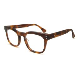 Lunettes de l'acétate de cadres de l'Italie designer célèbre marque Big Frame Fashion verres optiques haut de gamme