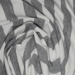 190GSM de garen-Geverfte Streep Enig Jersey van het Rayon van de polyester Spandex