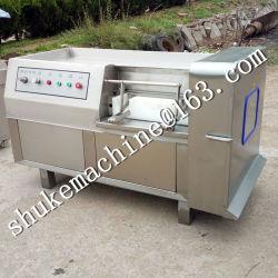 Cubo de Carne de acero inoxidable de la máquina de corte para cortar la carne de vacuno, porcino, caprino, Pollo