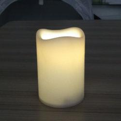 Candela senza fiamma dell'onda della colonna realistica superiore piacevole LED di incandescenza 3X4