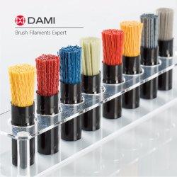 Nylon 610 612 6 66 PA612 PA610 PA6 PA66 carboneto de silício ao alumínio Sic Al2O3 Diamond escova abrasiva de fios de filamentos para polir Rebarbar o fio da escova