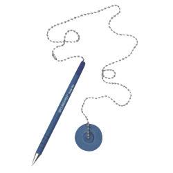 Clásica promocional Logotipo personalizado Escritorio Bolígrafo con la cadena