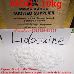 USP36, Ep86 Estándar, 99,9% puro Lidocaína HCl polvo