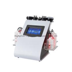 6 OEM em 1 de vácuo cavitação RF Máquina de emagrecimento Lipo Máquina Laser