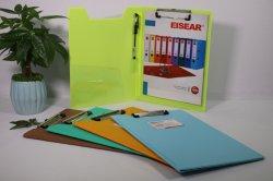 Presse-papiers en PVC multifonction / carte avec clip de qualité supérieure