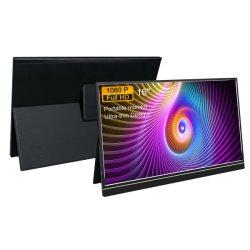 Hdr Tri-Screen portátil USB HDMI 1080P C Portable Extensión triple Extra dobles de 2 monitores para Laptop