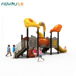 Sueño Feiyou vela popular serie de equipos de juego varios comerciales/patio/escuela/Park/restaurante al aire libre de plástico se deslizan sobre la venta