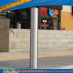 Bollard en acier inoxydable 304 pour la sécurité Post