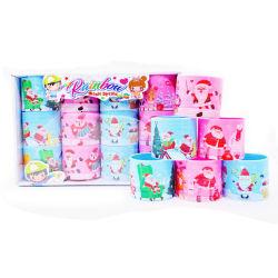 Spitzenverkaufenweihnachtssankt-Plastikregenbogen-Sprung-Kind-Spielzeug für Förderung-Geschenk