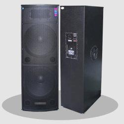 prix d'usine 2pcs 15kg emballage en bois de 15 pouces double Speakr Sound System