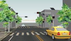 Zonne-energie LED Light System oplossing fabrieksprijzen verkeer Waarschuwingslampje