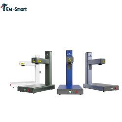 станок для лазерной маркировки Em-Smart мини-Portable волокна для металла, посмотрите, ключ, нож, перо, логотип банка маркировки