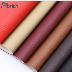 Une épaisseur de 0,8mm PVC Échelle de poissons de fond du grain de peau de vache de l'automobile en tissu canapé en cuir Le cuir