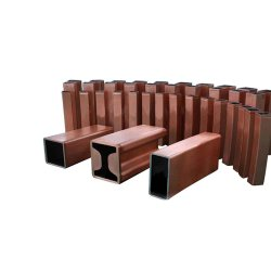 銅型の管円形の正方形の長方形のクリスタライザーの銅型の管
