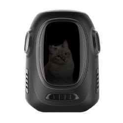 حقيبة ظهر Cat للحيوانات الأليفة حامل كبير للسفر يسمح بمرور الهواء وحقائب محمولة للحيوانات الأليفة في الهواء الطلق