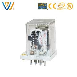 Relè elettrico di alta qualità di Jqx-38f 40A 48VDC 11pin per la vasca da bagno