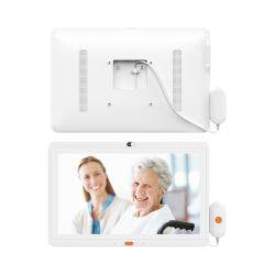 15.6 van de Digitale Medische van de Aanraking Duim Vertoning van het Scherm met Telefoon voor Geduldige Digitale Signage van de Tablet van het Vermaak