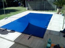 Recubierto de PVC impermeable cubierta de piscina lona Fabric