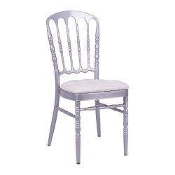 Château de gros de meubles de mariage de chaise empilable
