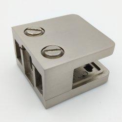 En acier inoxydable porte en verre d'estampage Clip