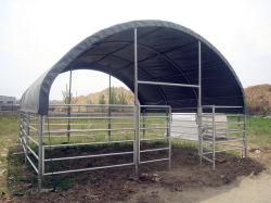 Cheval de l'élevage de bovins d'animaux ovins abris PVC