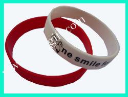 Custom Cheap Fashion Bracelet Bracelet en silicone colorées pour cadeau