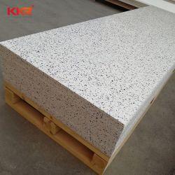 Material de construção 30mm Hanex Pedra de resina superfícies Corian Branca de Neve a folha de superfície sólida para painel de parede na bancada bancada
